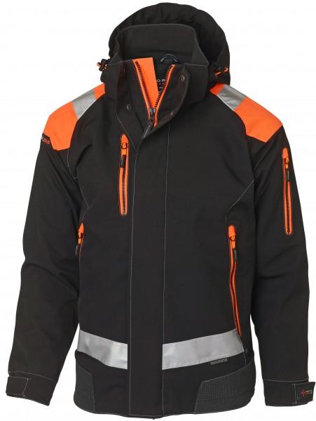 Wexman Jacke Zolid Pro schwarz/orange