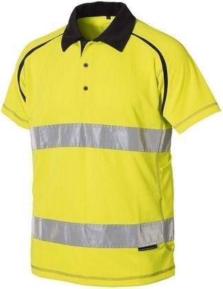 Wexman Signal-Poloshirt gelb Kl. 2