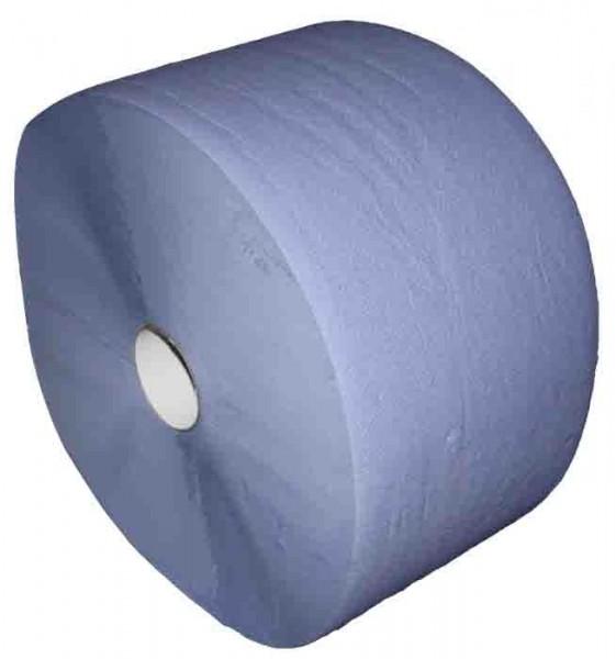 Putzpapier 36x36cm 1000 Blatt 2fach blau