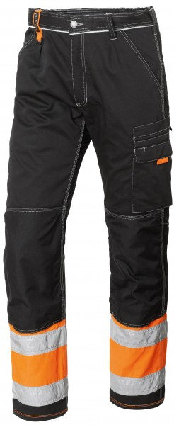 Wexman Hose Comfort Stretch FL schwarz/orange