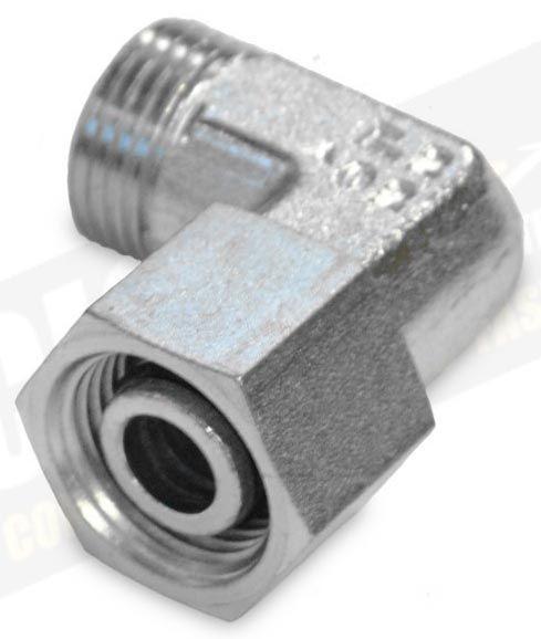 90° Adapter 20-S M30 stellbar o.Mutter/Schneidring