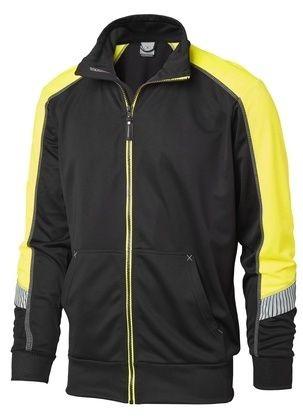 Wexman Sweater funktionell schwarz/gelb