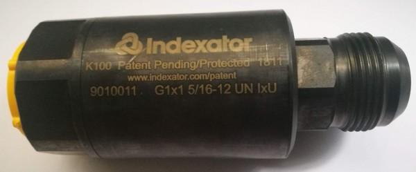 "Drehkupplung Indexator 1"" R IGx1.5/16"" JIC UNF AG"