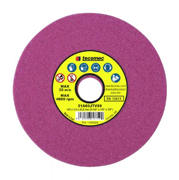 Schleifscheibe für Motorsägeketten 145x22,2