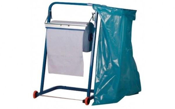 Putzpapierhalter Bodenständer+Müllsackhalter