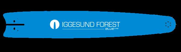 """IGGESUND BlueLine 27"""" 80 cm Aufnahme Ponsse 2,0/10 mm Schlitz"""