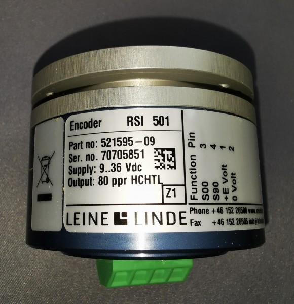 Längenmessgeber LogMax 80 ppr Welle 6 mm