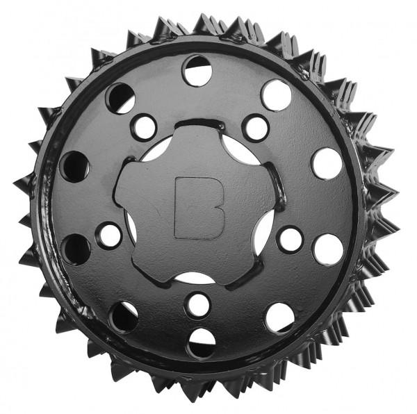 Walze H415 aussen 27 mm links Black Bruin