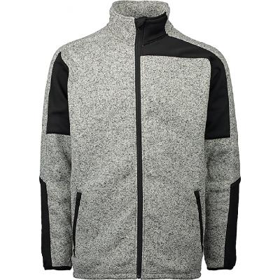 Stricksweater Gesto hellgrau
