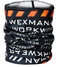Wexman Multischal schwarz/weiß/orange