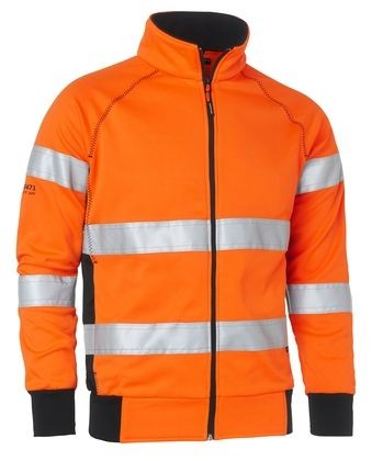 Wexman Signaljacke High-Vis Pro orange Kl. 3