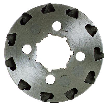 Ringkettenrad Ø innen 22,5 mm