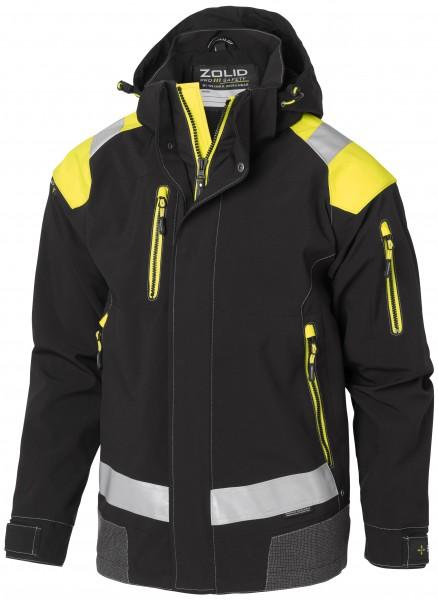 Wexman Jacke Zolid Pro schwarz/gelb