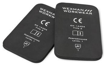 Knieschützer für Wexmanhose 22 mm