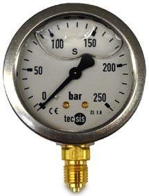 Manometer 0-250 bar