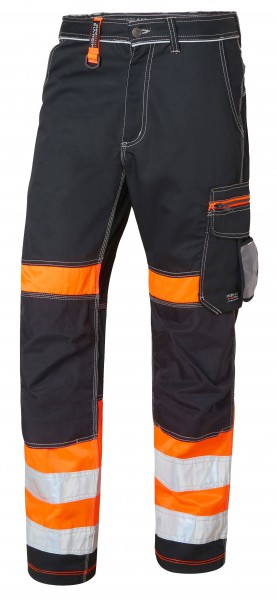 Wexman Hose Comfort Stretch Kl. 1 schwarz/orange