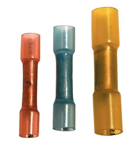 Schrumpfhülse gelb 4 - 6mm² 100 Stk