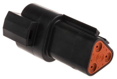 Steckergehäuse DT04-3P-CE02