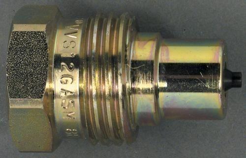 """Schraubschnellkupplung 1/2"""" Stift"""