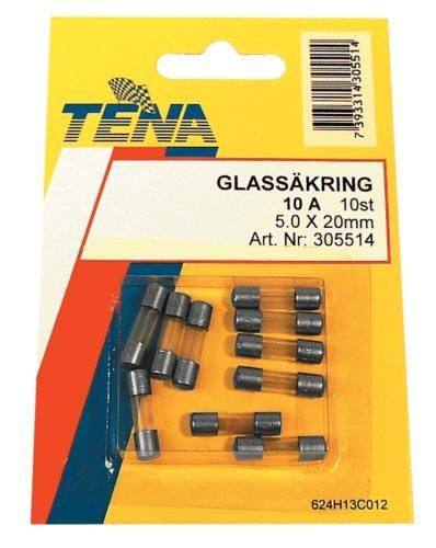 Glassicherung 3,15Ax5.0x20mm/10 Stk