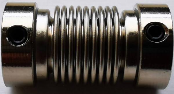 Flexkupplung 6/6 Durchmessergebung Rottne