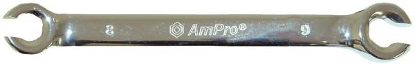 Überwurfmutterschlüssel AMPRO 16x18mm