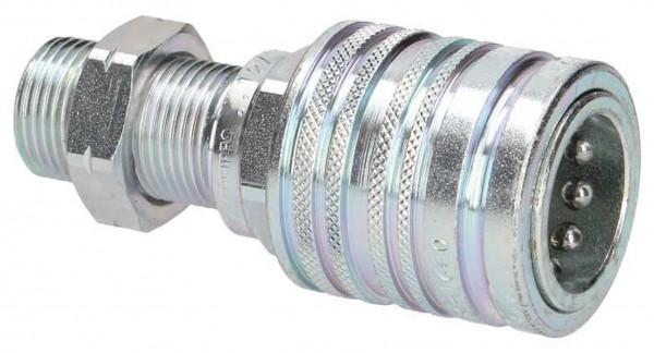 Schnellkupplung Hülse BSP x Schott metrisch L