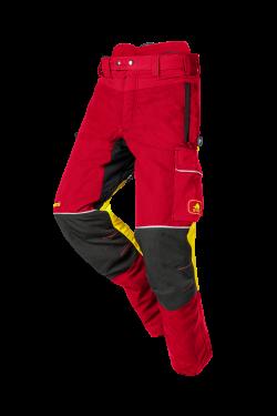 SIP Protection Samourai Schnittschutzhose Kl. 1 rot/gelb/schwarz