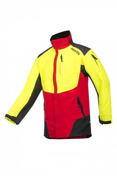 SIP Protection W-AIR Forstjacke rot/gelb