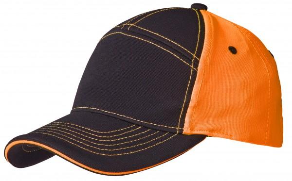 Wexman Kappe Kontrast orange/schwarz