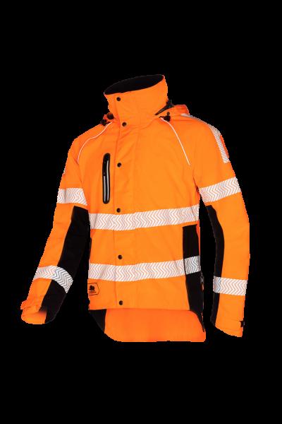 SIP Protection Keiu HV Regenjacke orange/schwarz