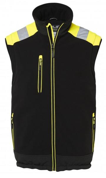 Wexman Weste schwarz/gelb
