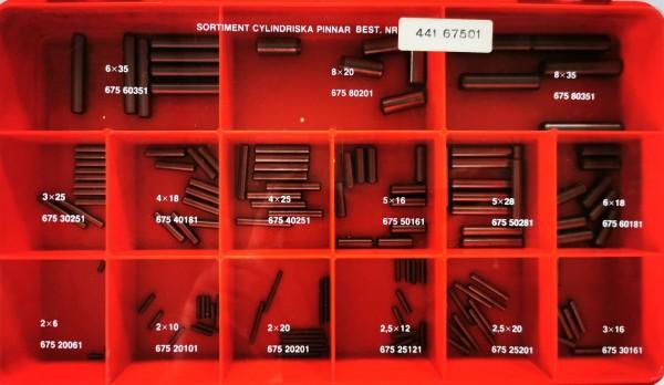 Zylinderstifte 2x6 - 8x35