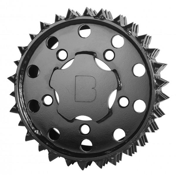Walze H415 aussen 27 mm rechts Black Bruin