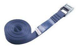 Spannriemen 1 m x 25 mm blau