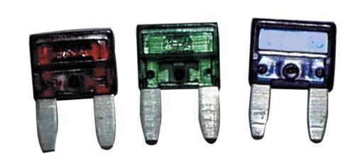 Flachstiftsicherung-Mini 4A hellrosa 10 Stk