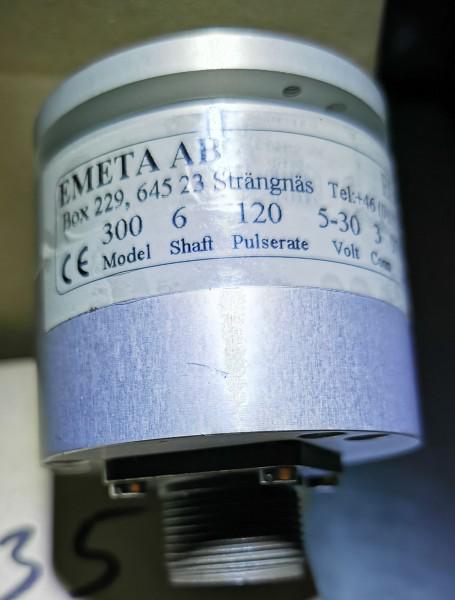 Längenmessgeber Valmet 120 ppr Welle 6 mm