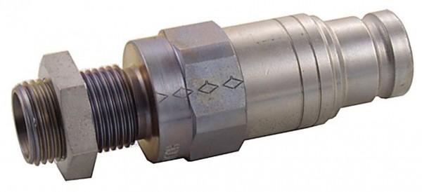 Schnellkupplung Schott staubfrei Stecker BSP x metrisch AG