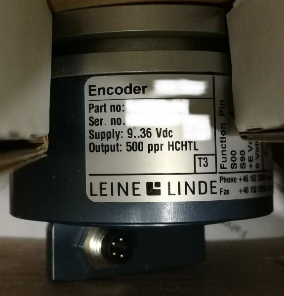Längenmessgeber Ponsse 500 ppr Welle 10 mm
