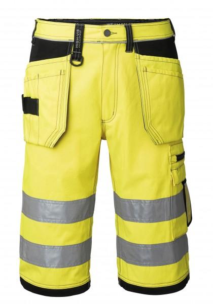 Wexman Shorts High-Vis Pro schwarz/gelb
