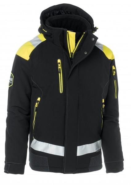 Wexman Winterjacke Zolid Pro schwarz/gelb
