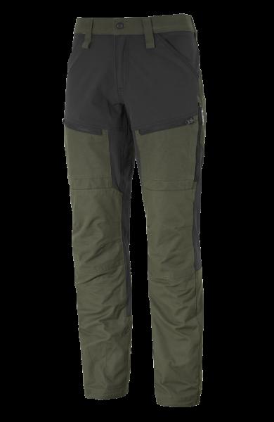 Outdoorhose Gesto mit Stretch grün/schwarz