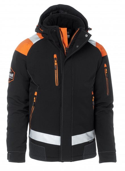 Wexman Winterjacke FL schwarz/orange