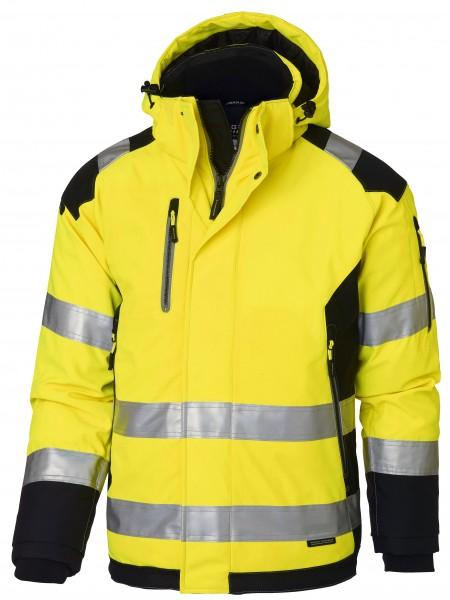 Wexman Warnjacke Winter High-Vis Pro gelb/schwarz
