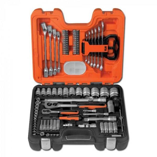 """Werkzeugsatz BAHCO S910 1/4"""" und 1/2"""" 92tlg."""