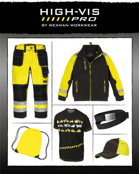 Set Wexman Junior 6tlg. schwarz/gelb