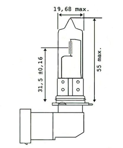 Glühbirne HB3 12V 60W