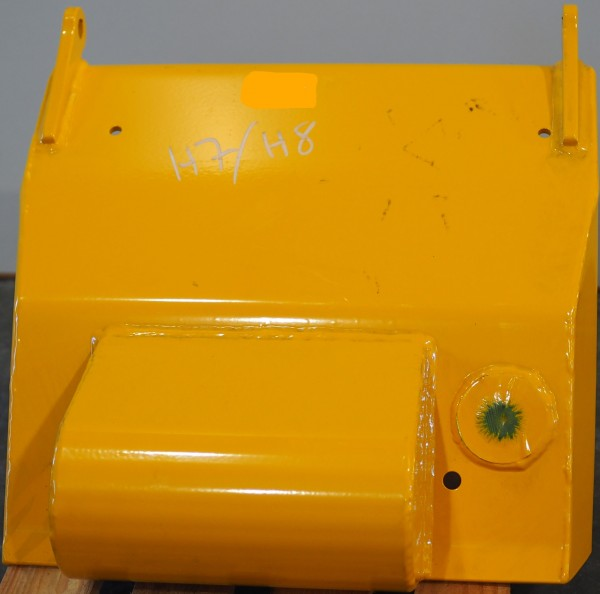 Aggregatabdeckung hinten Ponsse H7/H8 für Fettschmierung