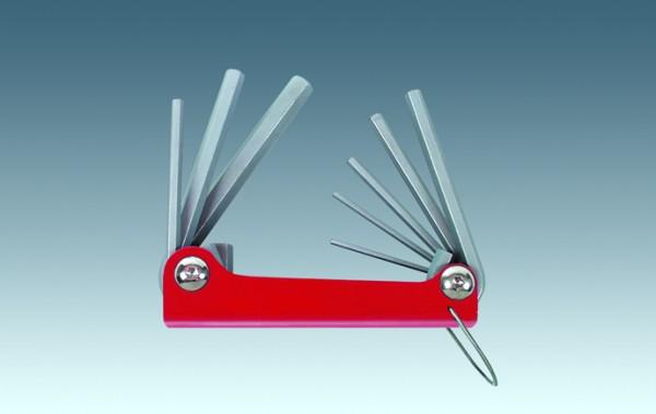 Sechskant-Schlüsselsatz 8tlg. 2,5-10 mm
