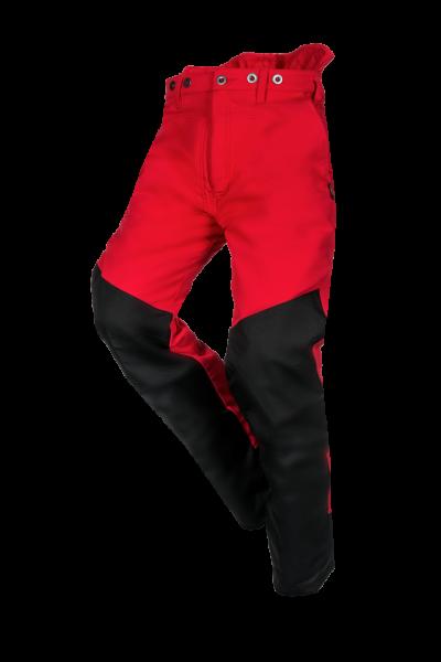 SIP Protection Flex Schnittschutzhose Kl. 1 rot/gelb/schwarz